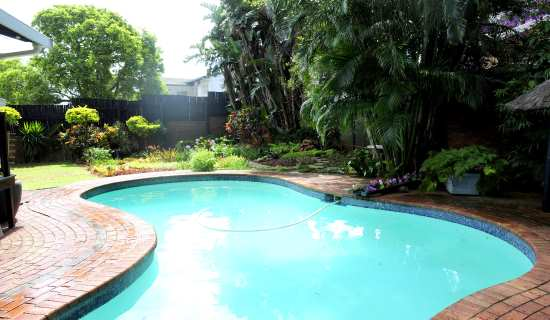 Enjoy a  braai at the pool and lapa.